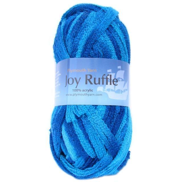 Joy Ruffle - Item 877 - NEW FALL | Plymouth Yarn