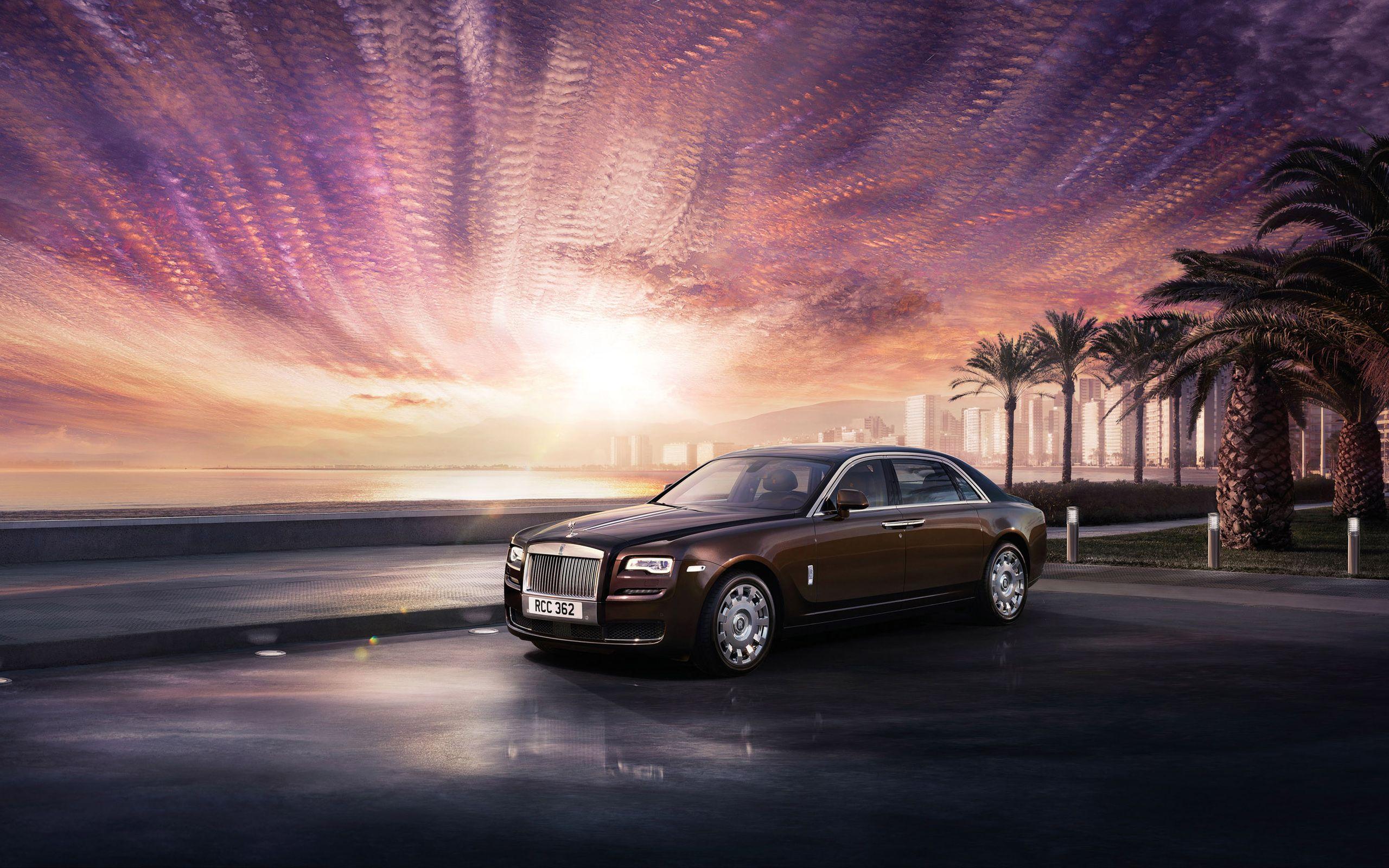 Rolls Royce Ghost 2015 HD Wallpaper