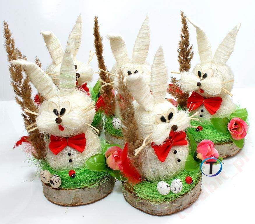 Piekny Zajac Zajaczek Wielkanocny Ozdoba Swiateczn Zdjecie Na Imged Easter Crafts Christmas Crafts For Kids Christmas Crafts