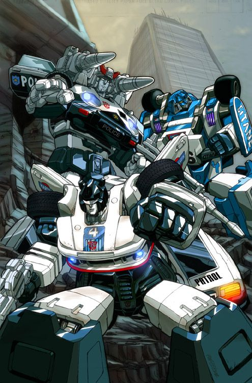 Transformers G1 Prowl Mirage And Jazz I Need This As A Massive Poster 3 Transformers Artwork Transformers Art Transformers Jazz