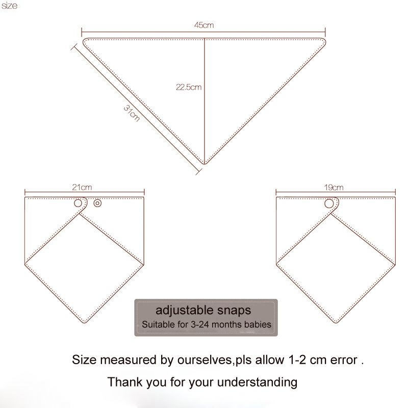 Image Result For Bandana Bib Dimensions