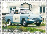 British Auto Legends 1st Stamp (2013) Ford Anglia 105E