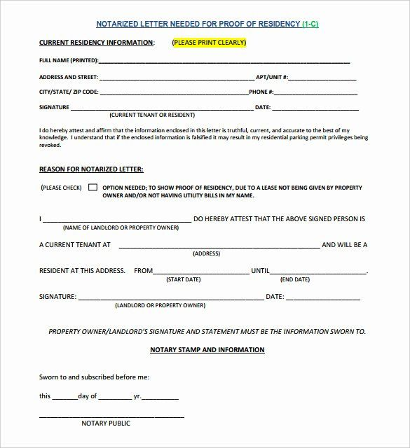 Notarized Letter Template Word Fresh 7 Notarized Letter Template Doc Pdf Letter Template Word Printable Letter Templates Lettering