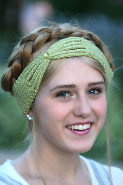 Green Headband3blog Loom Knitting Pinterest Loom Knitting