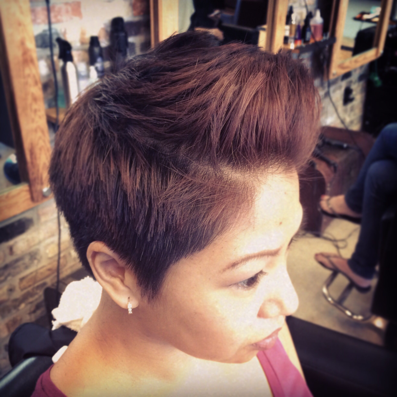 Always fun changing Jos hair up;)