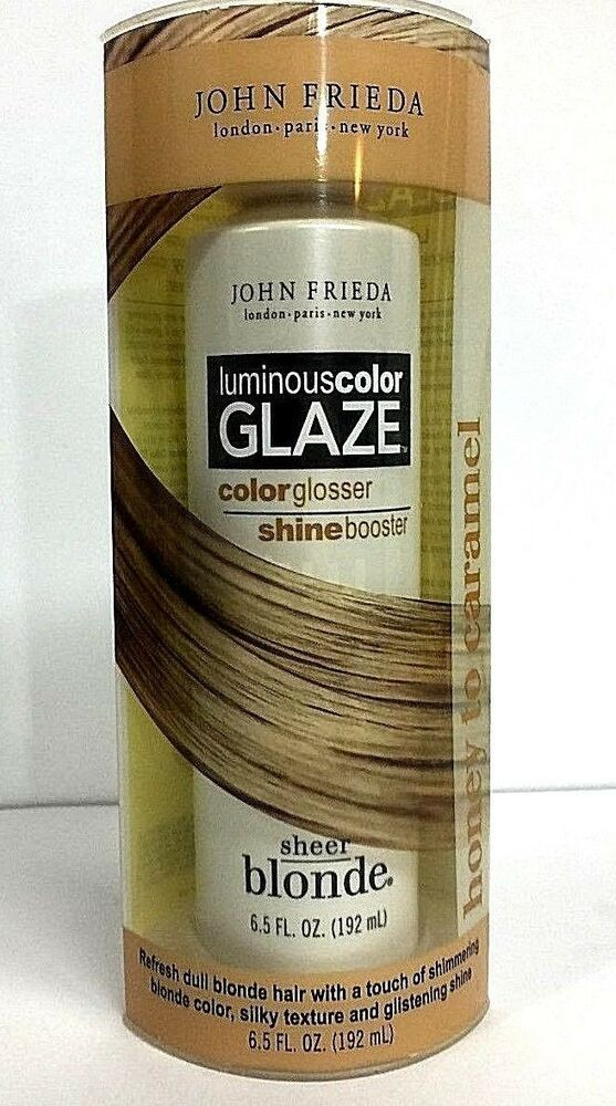 John Frieda LUMINOUS COLOR GLAZE Honey to Caramel Sheer