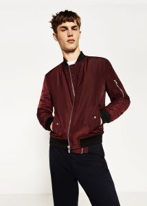 best selling in stock sports shoes Blouson bomber bordeaux de Zara #bomber #zara | Veste, Veste ...