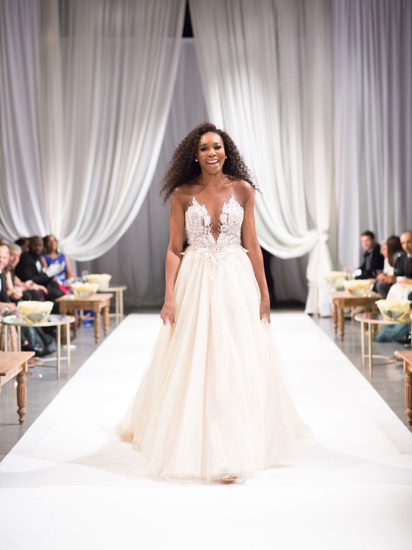 Inside Serena Williams S Fairy Tale Wedding In New Orleans Serena Williams Wedding Wedding Dresses Serena Williams