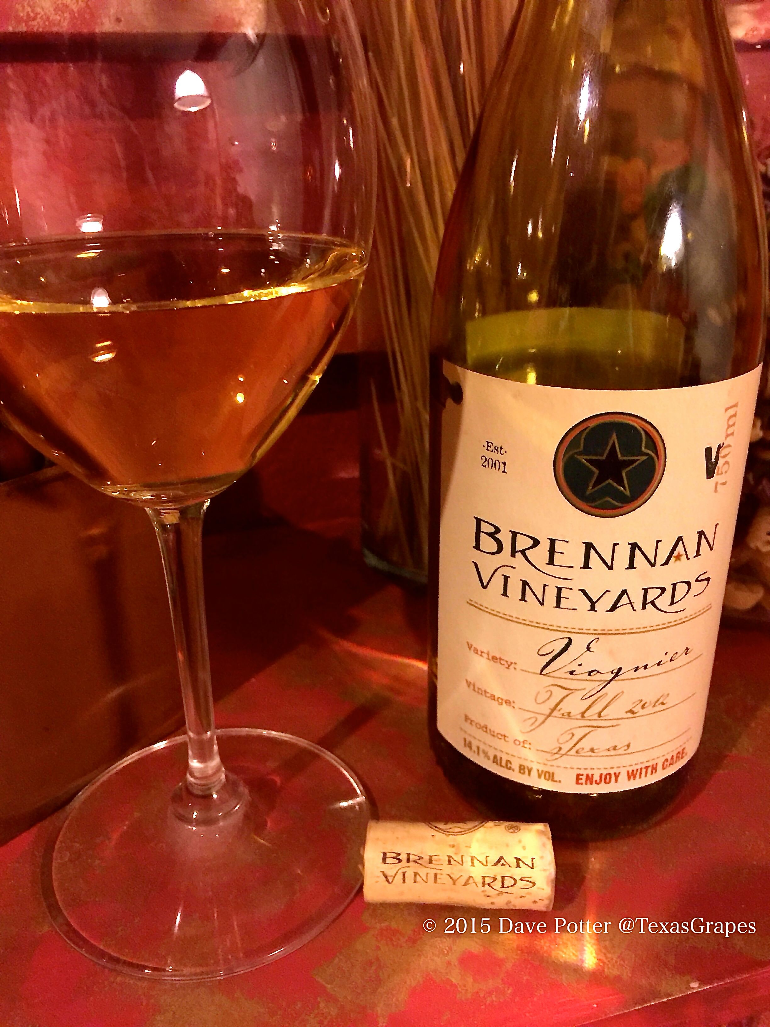 Tonight S Txwine And Birthday Wine Of Choice Is Brennan 2012 Viognier I Got Two Bottles Left In My List Of The Top 5 T Birthday Wine Wine Viognier