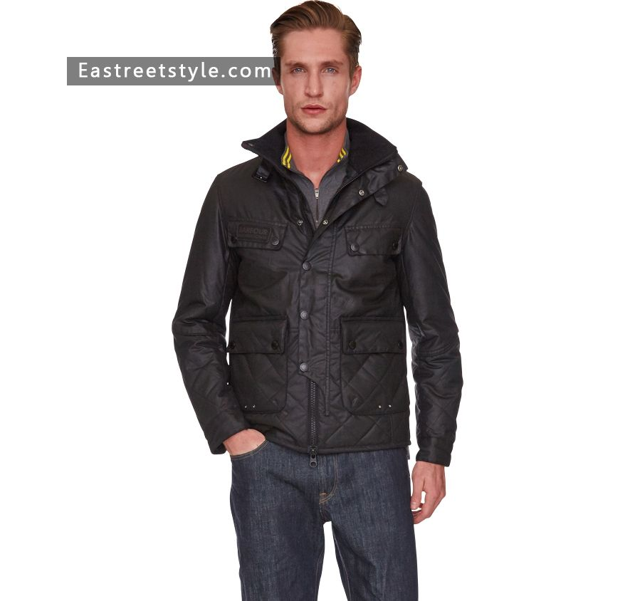 db7be2f4e87f3 Men Barbour Trail Quilted Jacket at www.eastreetstyle.com #Barbour Jackets  Sale