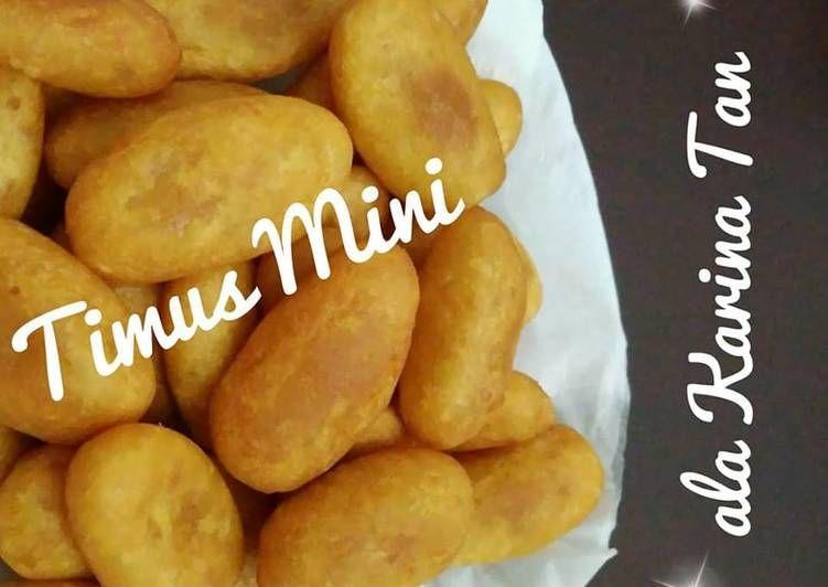 Resep Timus Mini Oleh Karina Resep Makanan Resep Ubi