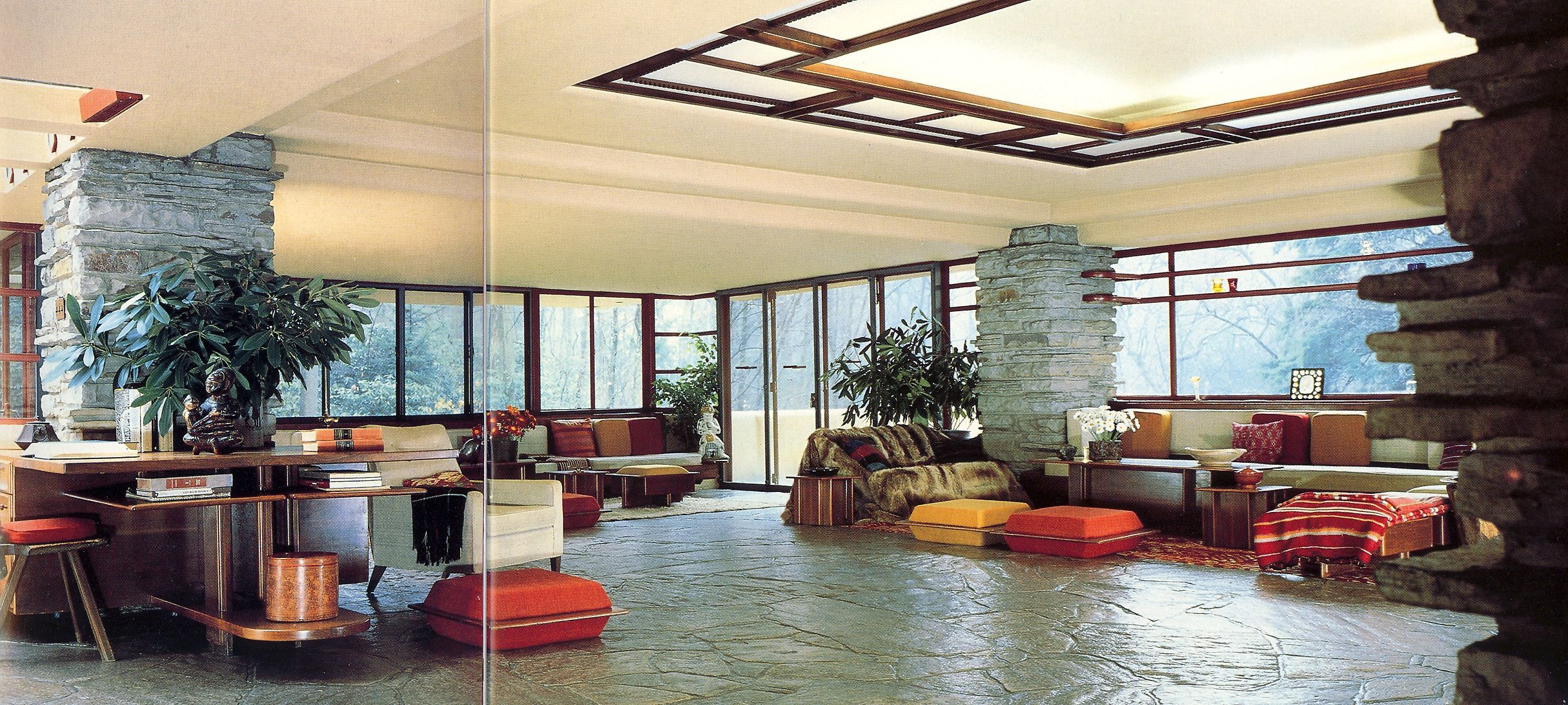 big house tour fallingwater one ce upon ce time pinterest