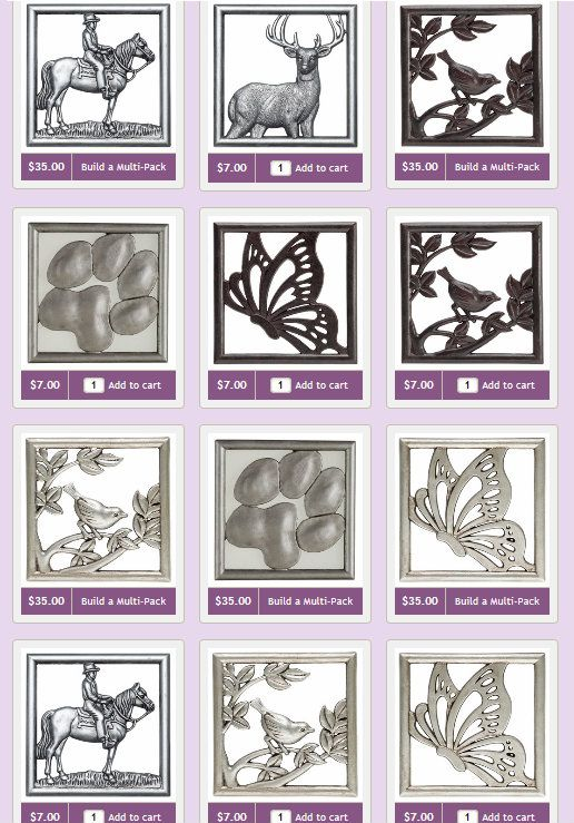 Animal Frames that Fit the Scentsy Gallery Warmers | My Favorite ...