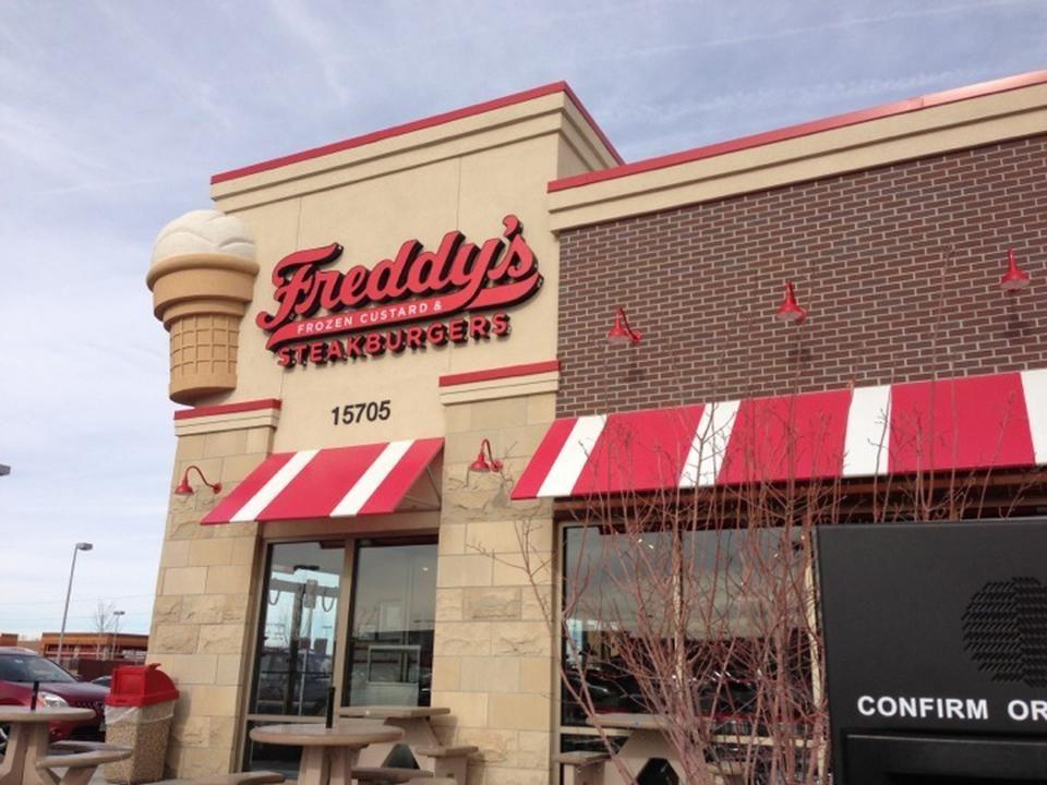Freddy S Frozen Custard Steakburgers 15705 E Briarwood Cir Aurora Co 80016 Freddysusa Freddy S Architecture Pinterest Freddy S Frozen Custard Frozen