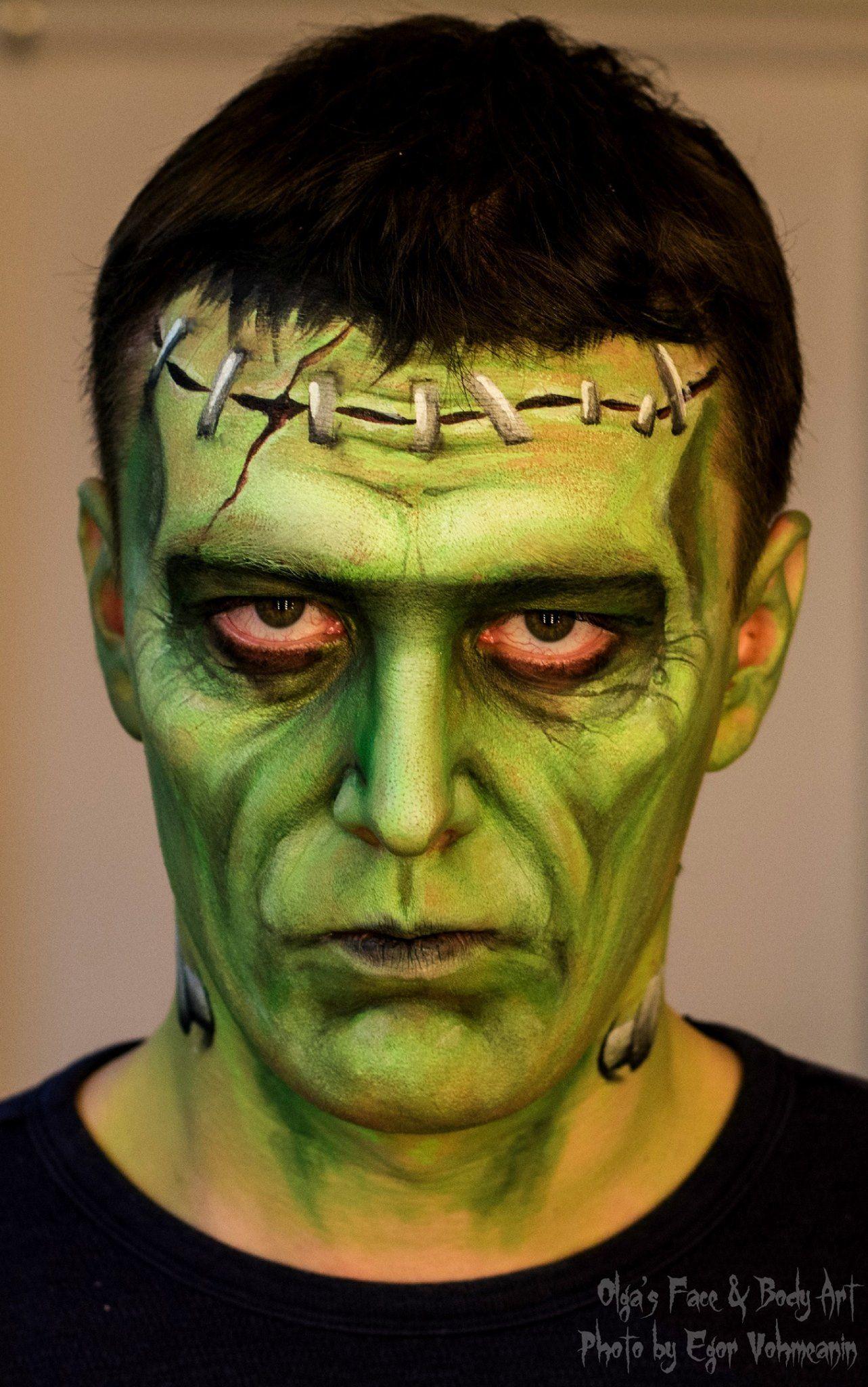 frankensteins monster halloween design by olga meleca
