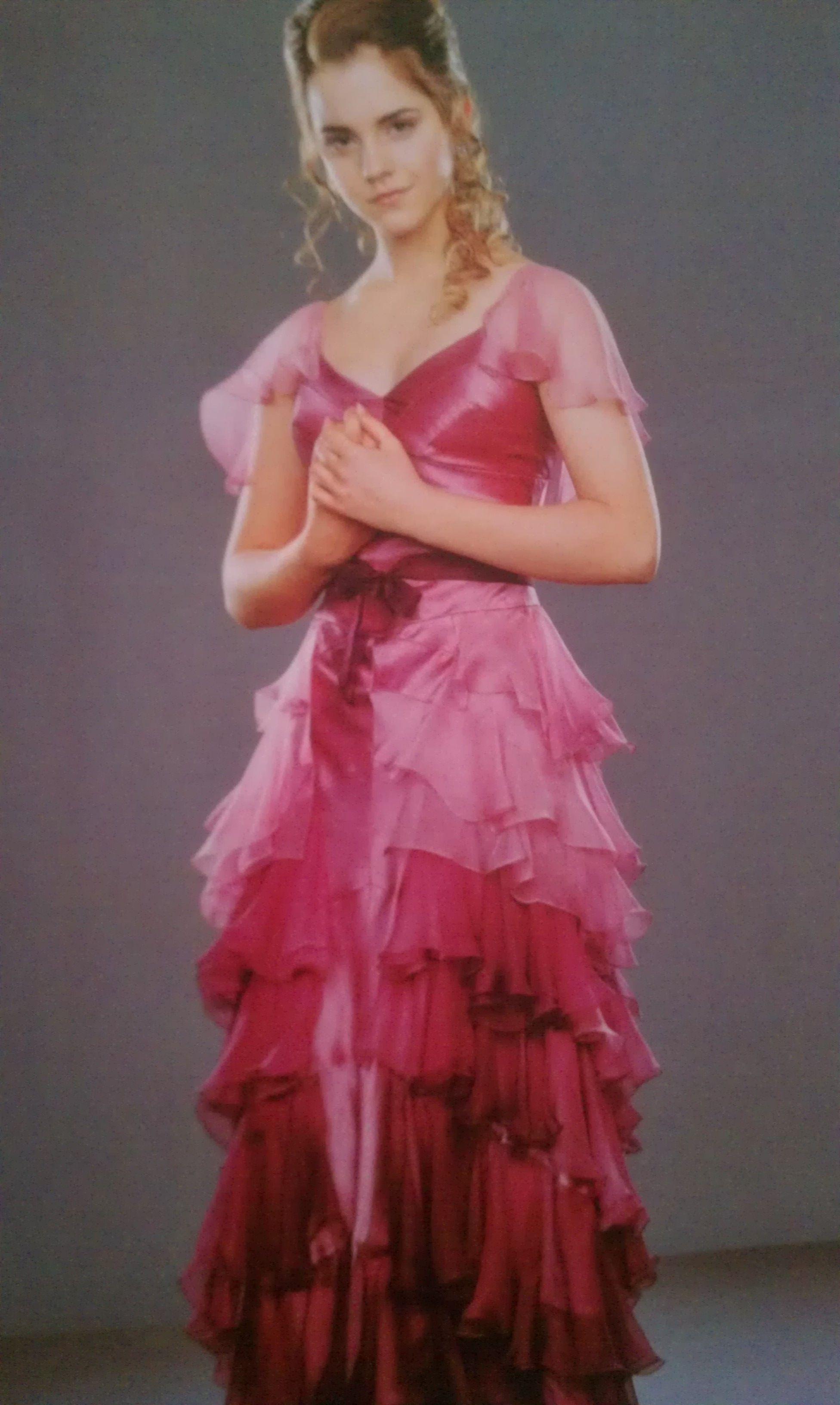 Hermione's Yule Ball dress | Wedding 2 | Ball gowns, Ball ...
