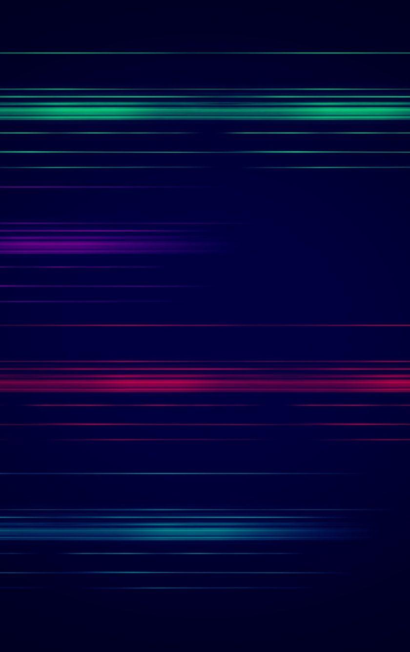 Downaload Blur Lines Colorful Minimal Wallpaper For Screen