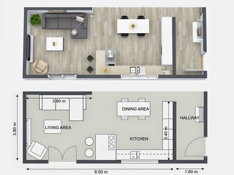 Plan Your Kitchen Design Ideas with RoomSketcher Pinterest