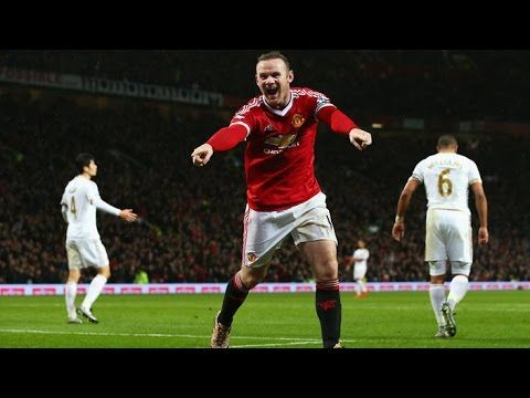 Wayne Rooney Goal Manchester United Vs Reading 1 0 Fa Cups 07 01 201 Premier League Goals Manchester United Wayne Rooney