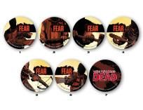 Walking Dead - Something to Fear complete 7 pin promo set ---> shipping is $0.01 !!!