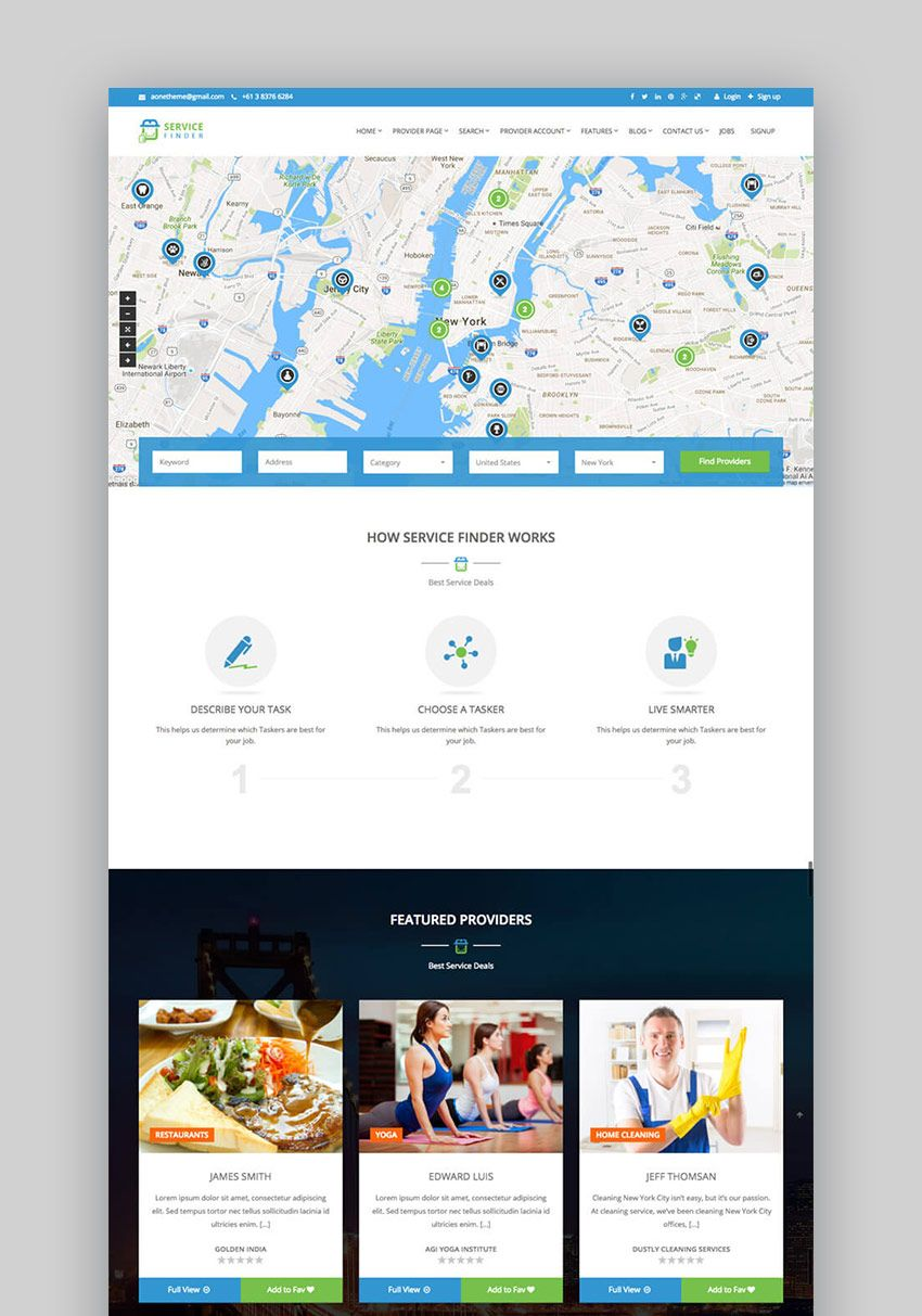 25 Best WordPress Directory Themes To