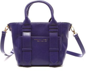 d70811d9e22c RIKACO×SAMANTHA THAVASA NEW YORK split leather bag / ShopStyle:  サマンサタバサニューヨーク コラボ スプリットレザーバッグ