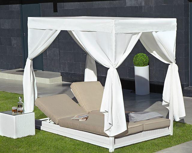 Camas de jardin3 camas balinesas pinterest camas for Decoracion de casas balinesas