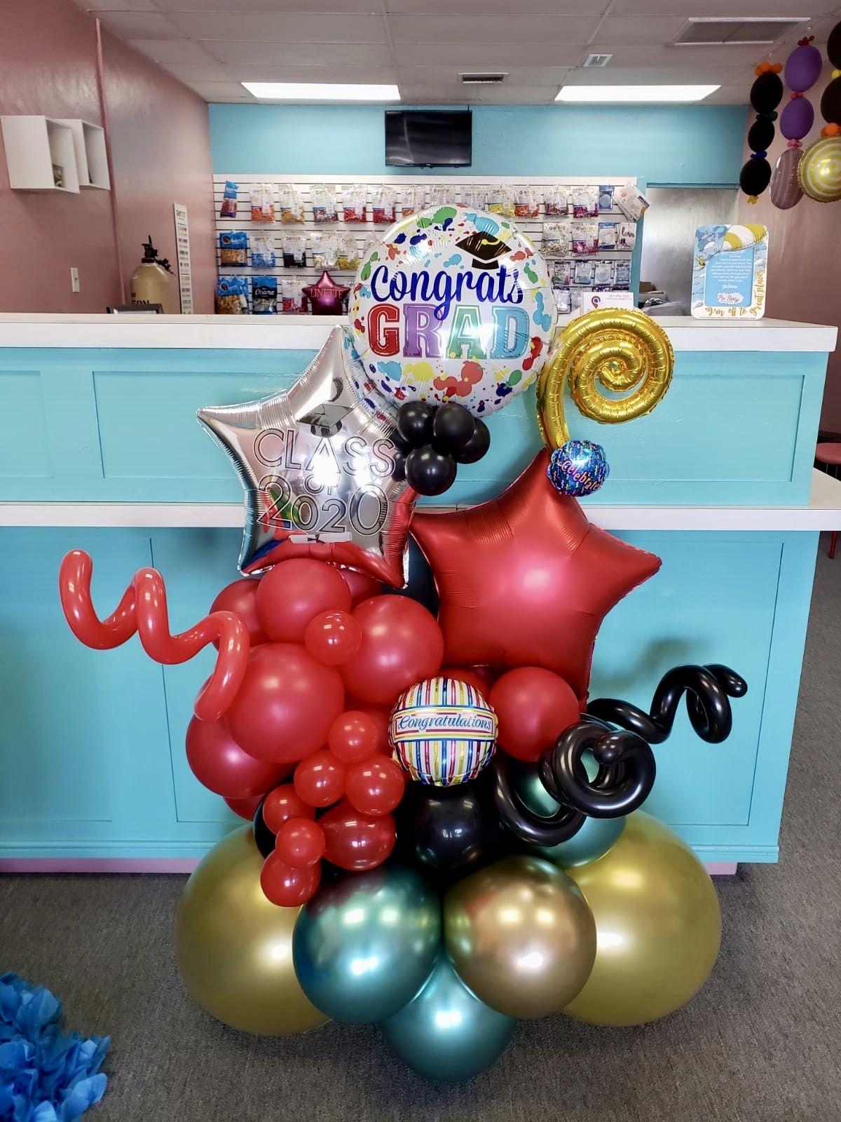 Balloon bouquet for graduation class of 2020