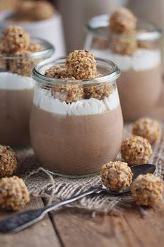 Giotto Mousse Dessert Chocolate Hazelnut Mousse Dessert #einfachernachtisch