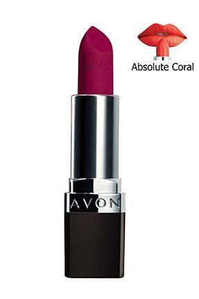 Ruj Parlatıcı Makyaj Lipstick Avon True Lip Makeup