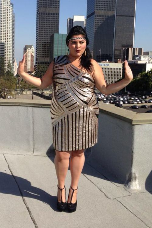 Gatsby Chic This is a deco dress from Sydney\'s Closet. Love it ...