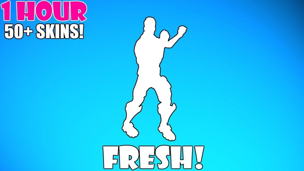 fresh - fresh fortnite emote 1 hour