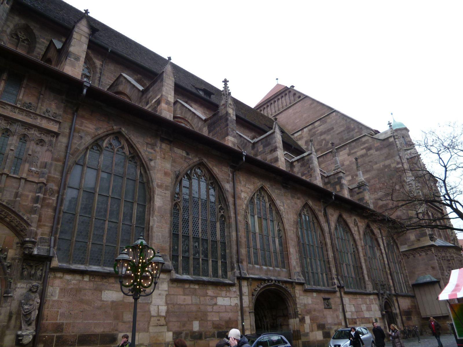 """""""St.Lorenz""""(Chiesa), Nurnberg Deutschland (Dicembre)"""