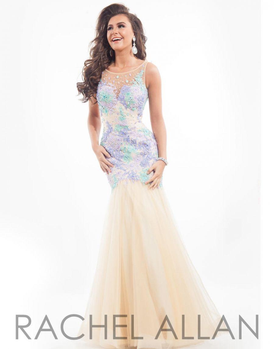 44d26dea3972b Rachel Allan 6850 Lace Mermaid Prom Dress | dress | Prom dresses ...