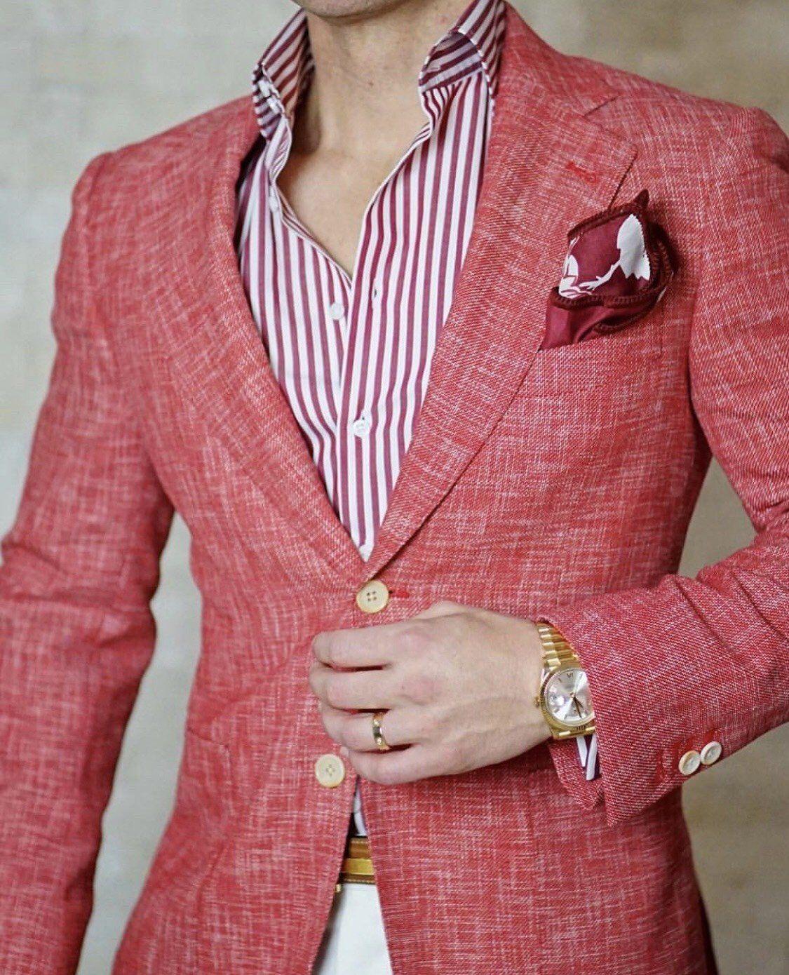 S by Sebastian Cardinale Lino Tweed Jacket | Pinterest | Informal ...