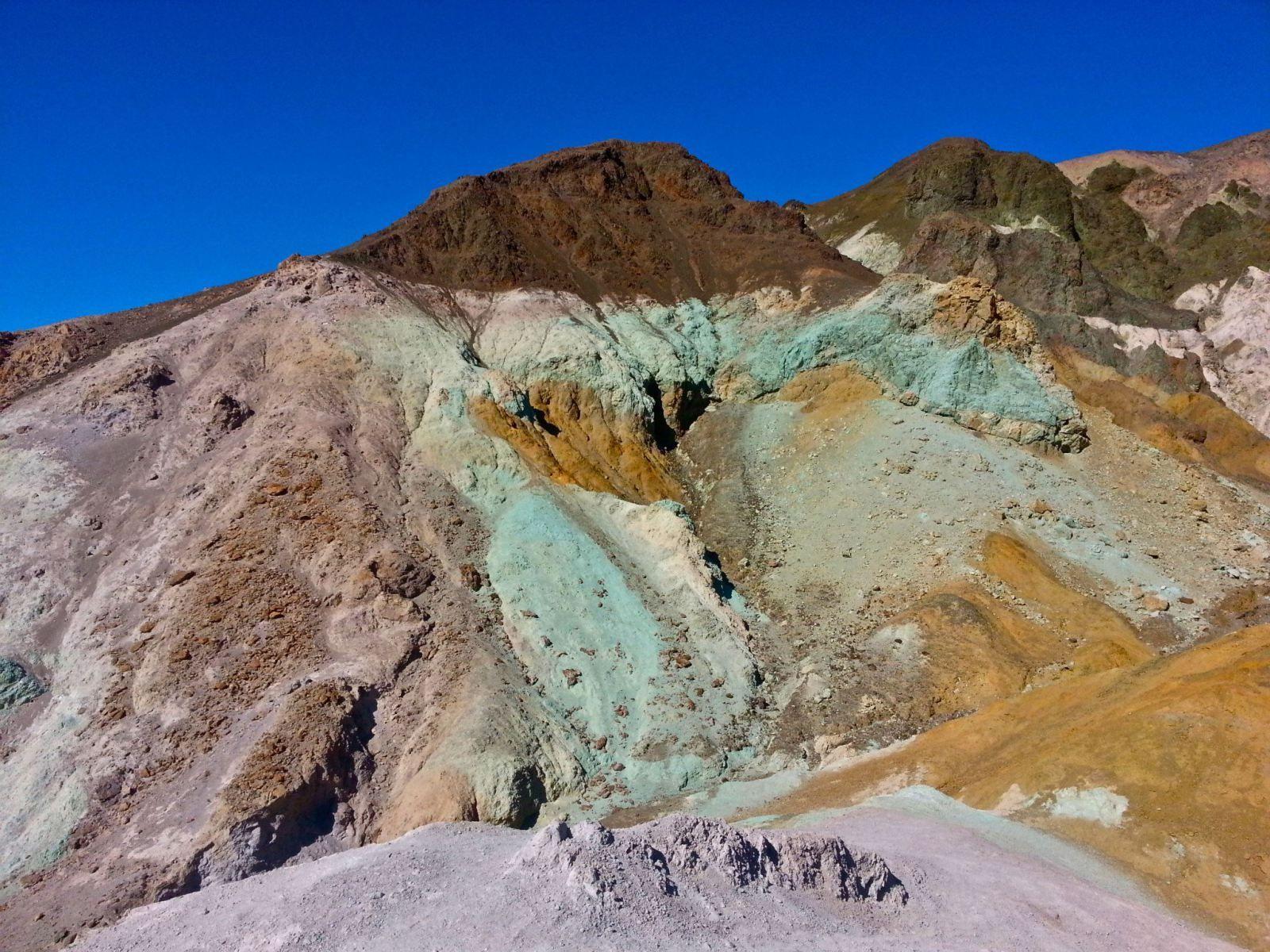 Artist Palette Death Valley NP Trip 2018 Pinterest