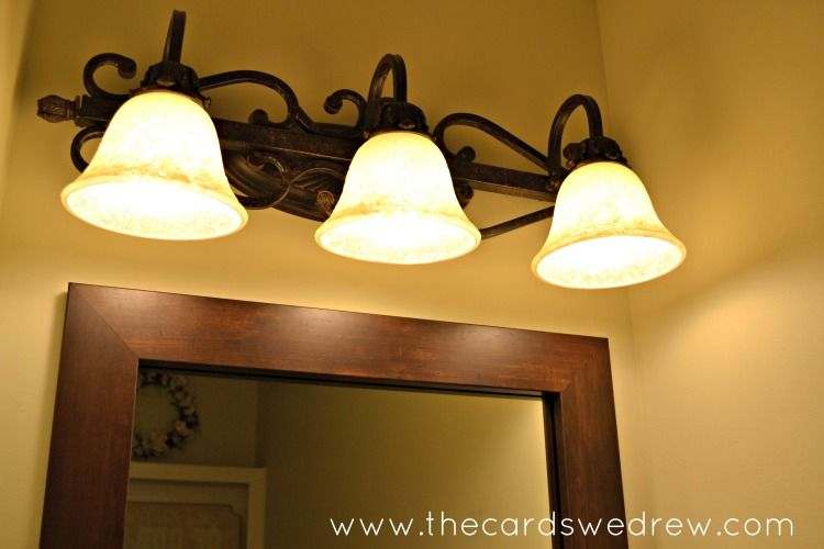 new bathroom light fixture Home Updates Pinterest Bathroom