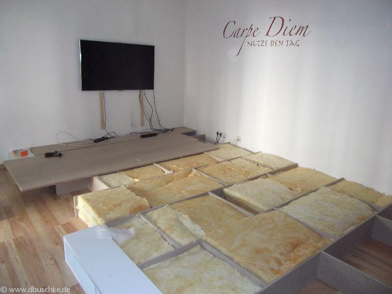 Elegant Detaillierte Anleitung Mit Bildern Für Den Bau Eines Wohnzimmer Podest. Mit  Dieser Anleitung Bist Du