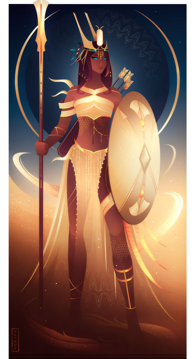 Neith ~ Egyptian Gods by Yliade on DeviantArt | Egyptian gods, Ancient  egypt gods, Female gods