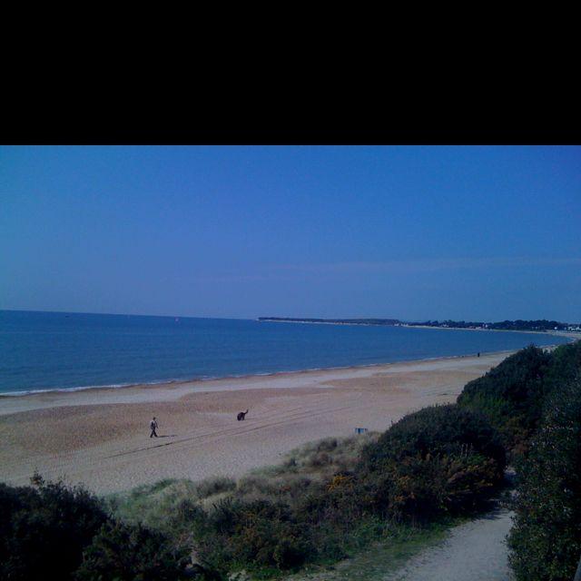 Highcliffe beach. I love Dorset :)