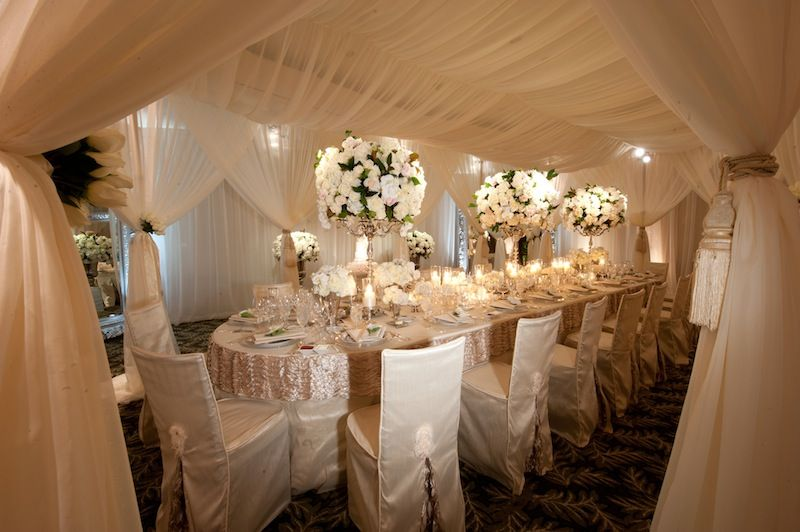Romantic intimate summer wedding in beverly hills for Small intimate hotels