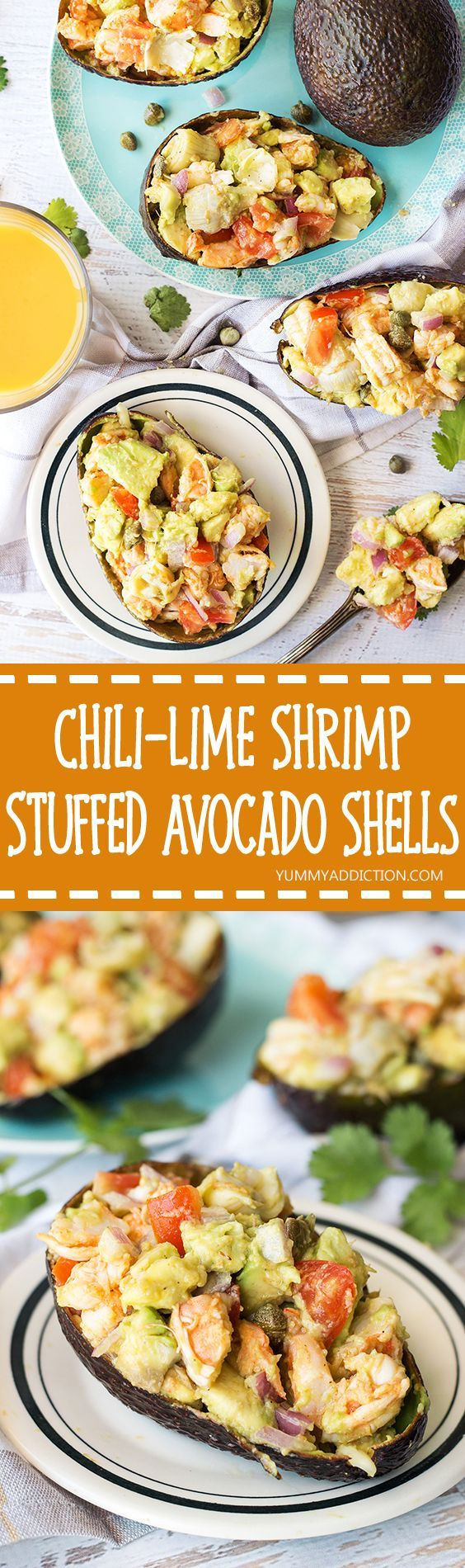 ChiliLime Shrimp Stuffed Avocado Shells Recipe Best