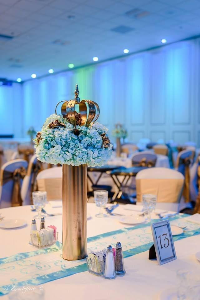 Golden Glamorous Prince Baby Shower Decorations, Glamorous Prince Baby  Shower Ideas, Golden Prince Baby