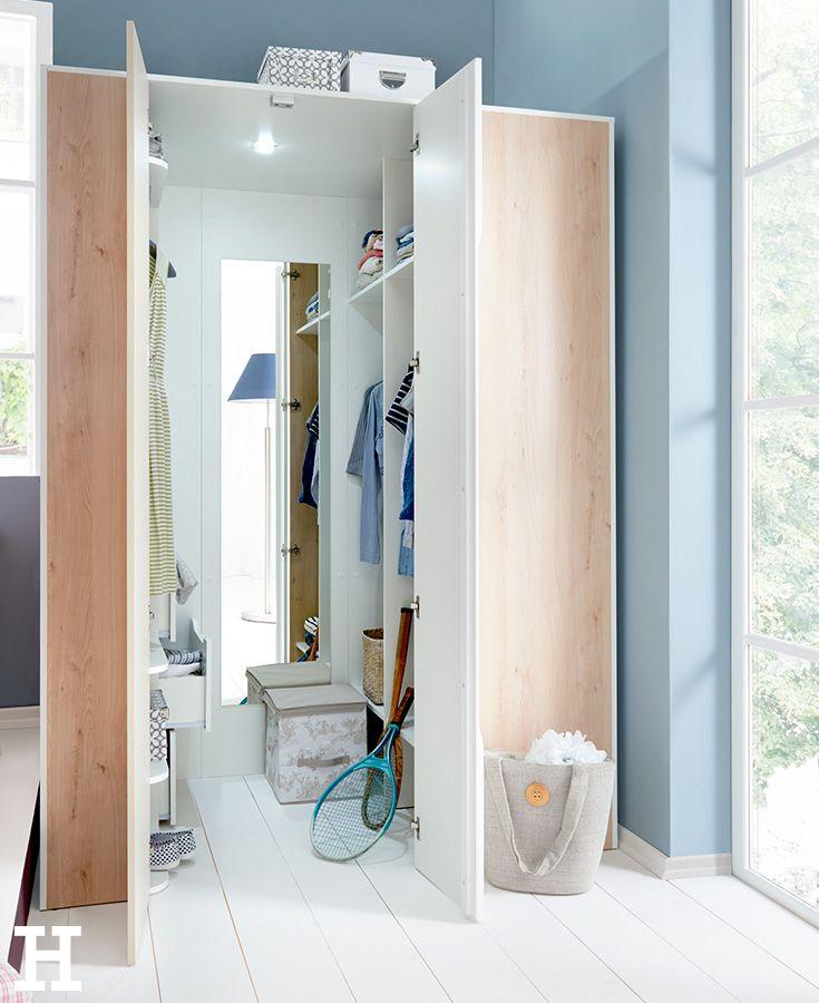 Ein begehbarer Kleiderschrank ist für viele ein wahrer Traum Emil - schlafzimmer mit eckschrank