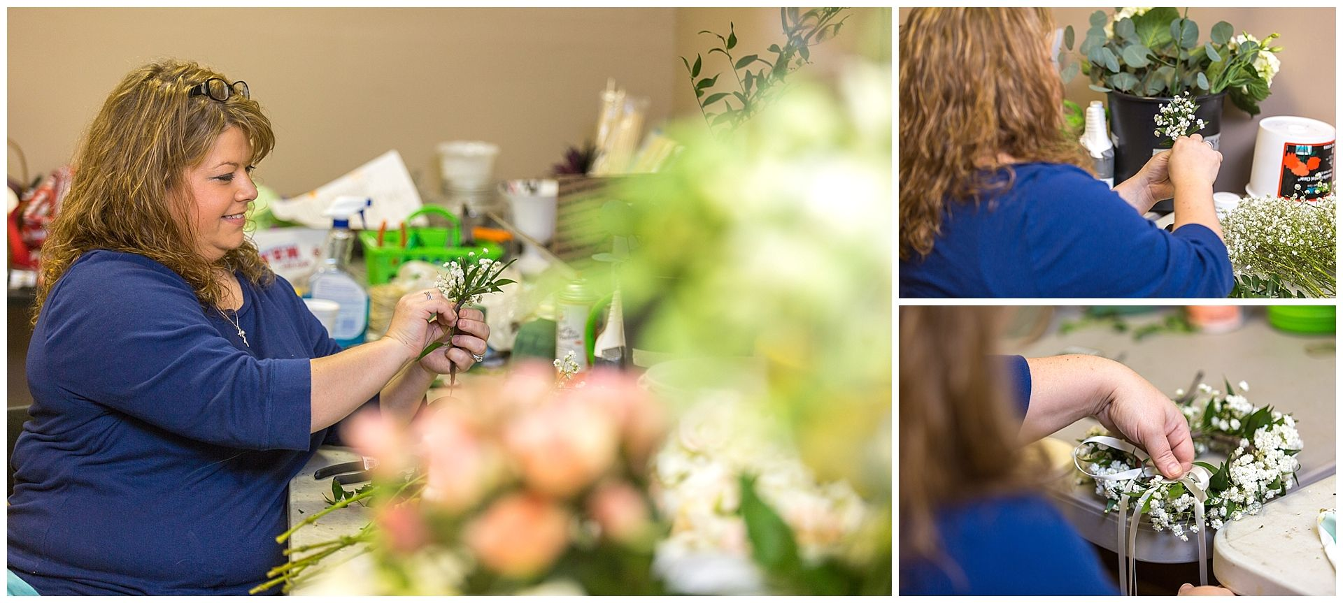 Wedding florist jessica jones the owner of blooms n blossoms wedding florist jessica jones who is the owner of blooms n blossoms in georgetown junglespirit Images