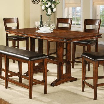 Winners Only, Inc Counter Height Dining Table Decorating Ideas