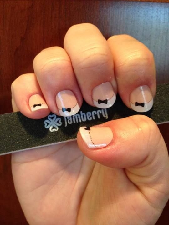 French Tip Bows #FrenchTipBowsjn - Jamberry Nails, Jessie Neireiter ...