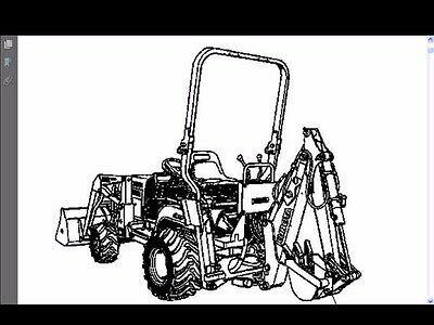(Advertisement eBay) KUBOTA BT600 PARTS MANUAL for BT 600