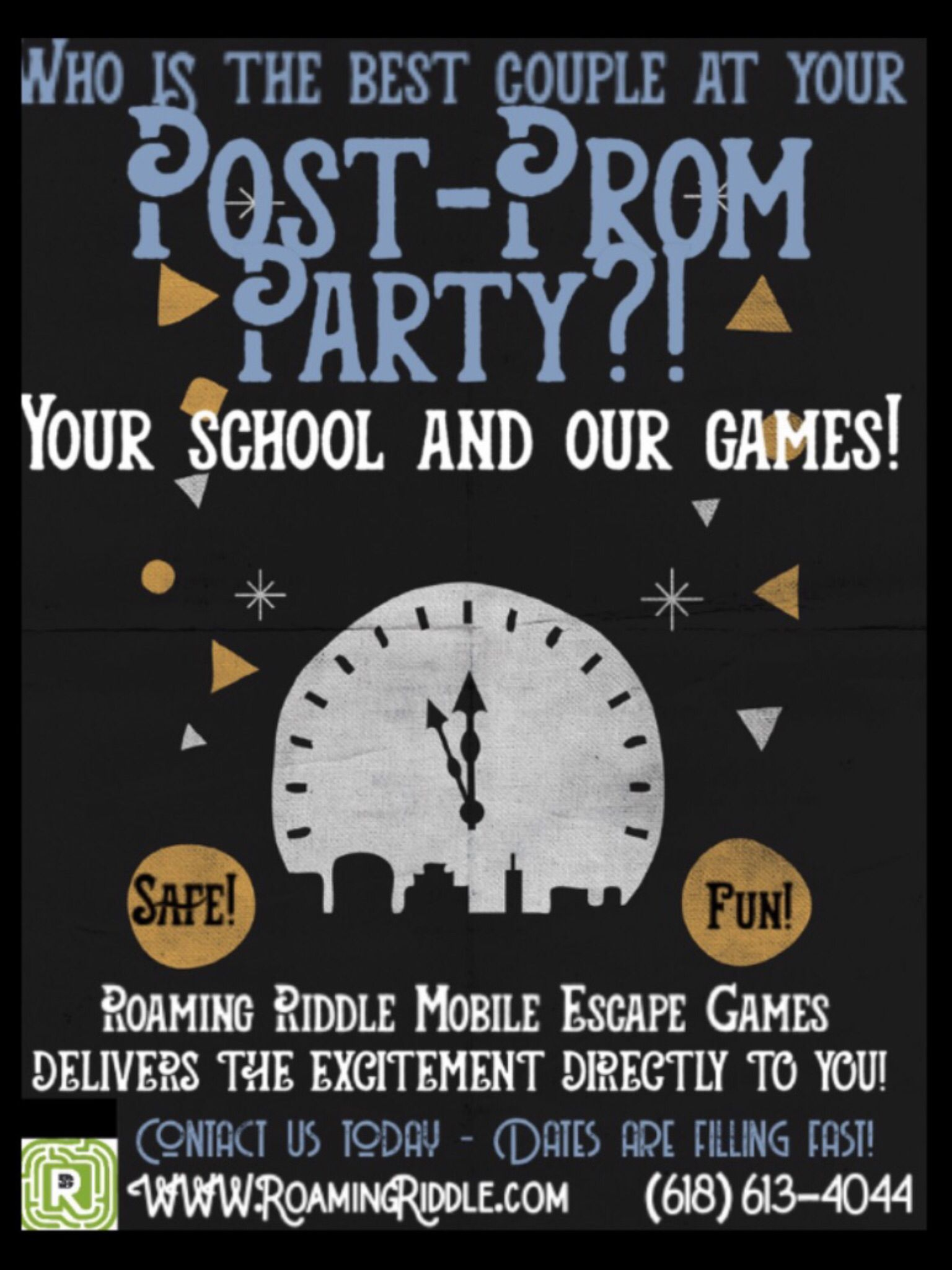 Roaming Riddle brings the escape room to your Post Prom