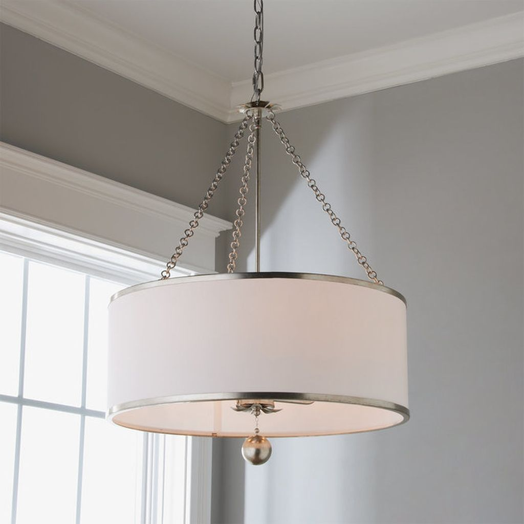 30 Popular Dining Room Lighting Ideas For Your Dining Room Drum Shade Chandelier Ceiling Lights Living Room Pendant Lighting Dining Room